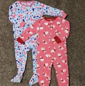 NWOT Winter Fleece Pajamas